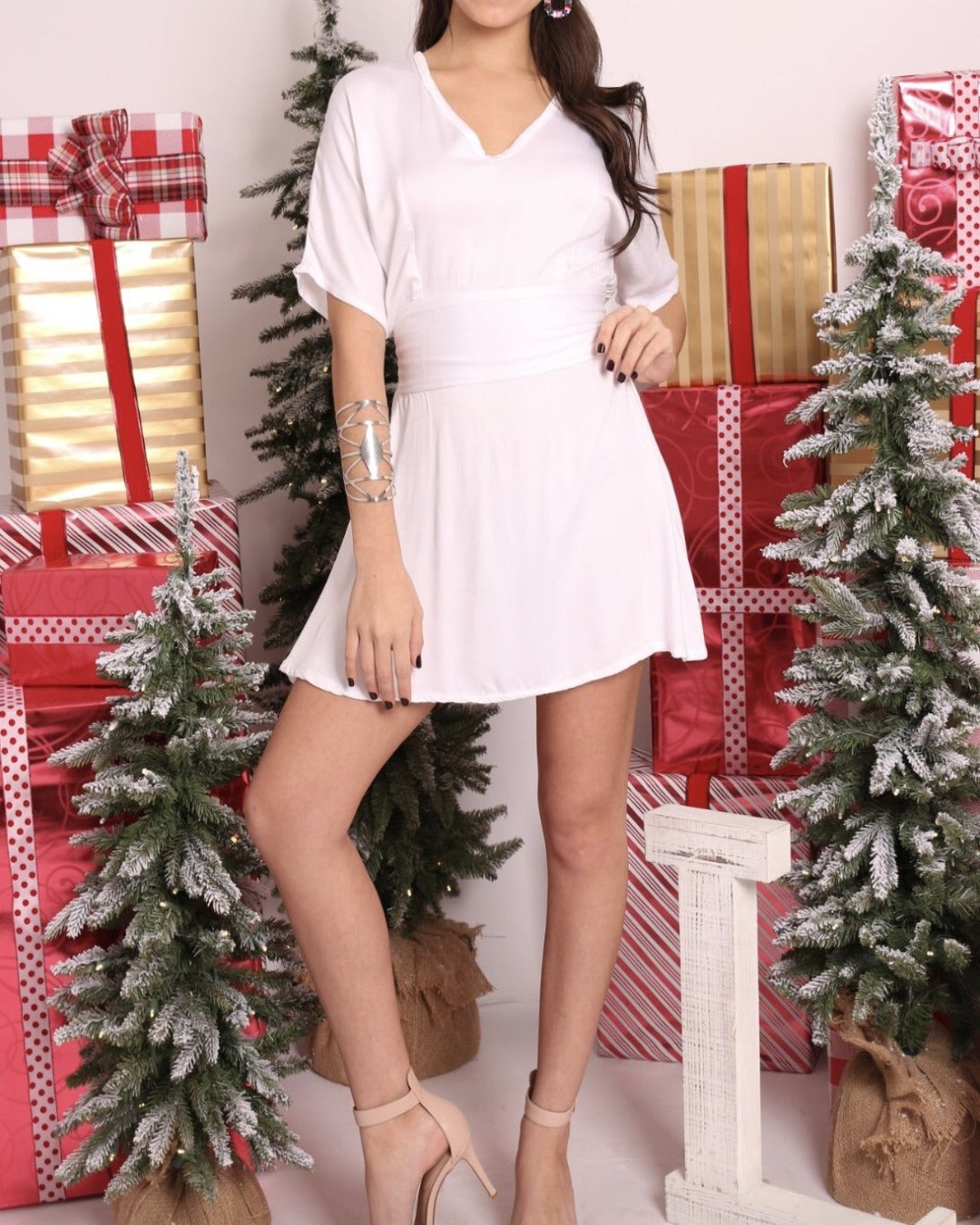 NS White Dress