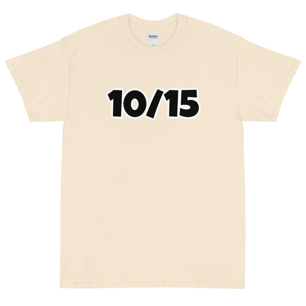 10/15 - Men's Short Sleeve T-Shirt
