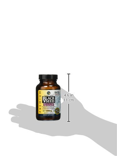Amazing Herbs Premium Black Seed Oil Soft-Gels, 60 Count: Health & Personal Care