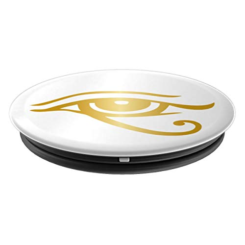 Egypt Eye of Horus Ra Egyptian Protection Symbol Loved Ones - PopSockets Grip and Stand for Phones and Tablets