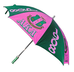 Alpha Kappa Alpha AKA African American black Greek Sorority 30 inches Jumbo Umbrella