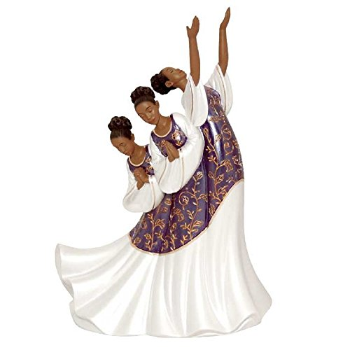United Treasures African American Praise Dancer Figurine: Giving Praise