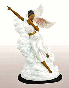 Pointing the Way African American Angel Figurine