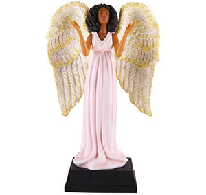 African American Expressions - Pink Angel Collectible Figurine