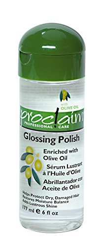 Olive Oil Glossing Polish, 6 oz. : Hair Styling Serums