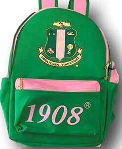 Alpha Kappa Alpha USB Port Backpack