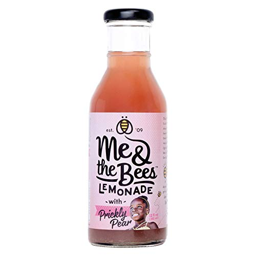 ME AND THE BEES LEMONADE, Lemonade, Prickly Pear, Pack of 12, Size 12 FZ, (Gluten Free) : Grocery & Gourmet Food