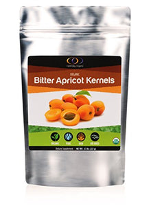 Organic Apricot Seeds with Vitamin B17, Raw Bitter Apricot Kernels, Vegan, 1/2 Pound : Grocery & Gourmet Food