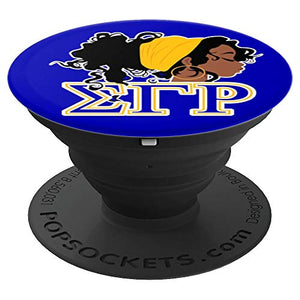 Sigma SGRho Gamma Sorority Rho 1922 Gift Paraphernalia - PopSockets Grip and Stand for Phones and Tablets