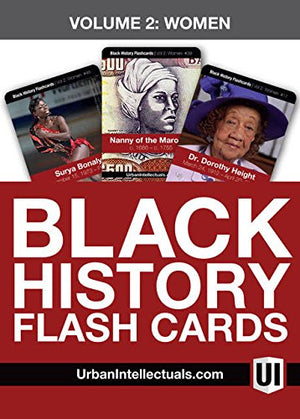 Urban Intellectuals Black History Flashcards (52 Educational Card Deck) (Volume 1)