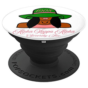 Womens Alpha Kappa AKA Alpha - PopSockets Grip and Stand for Phones and Tablets