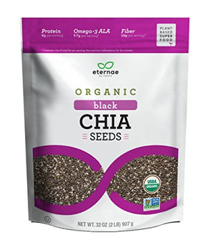 Organic Raw Chia Seeds, 32 Ounce