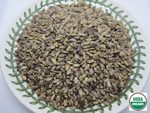 Organic Milk Thistle Seeds - Silybum marianum Loose Seeds 100% from Nature (08 oz): Grocery & Gourmet Food