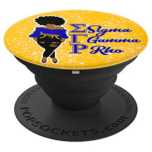 Sigma Gamma SGRho Rho 1922 Sorority Gift Grip Paraphernalia - PopSockets Grip and Stand for Phones and Tablets: Cell Phones & Accessorie