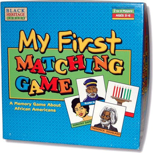 Black Heritage My First Matching Game