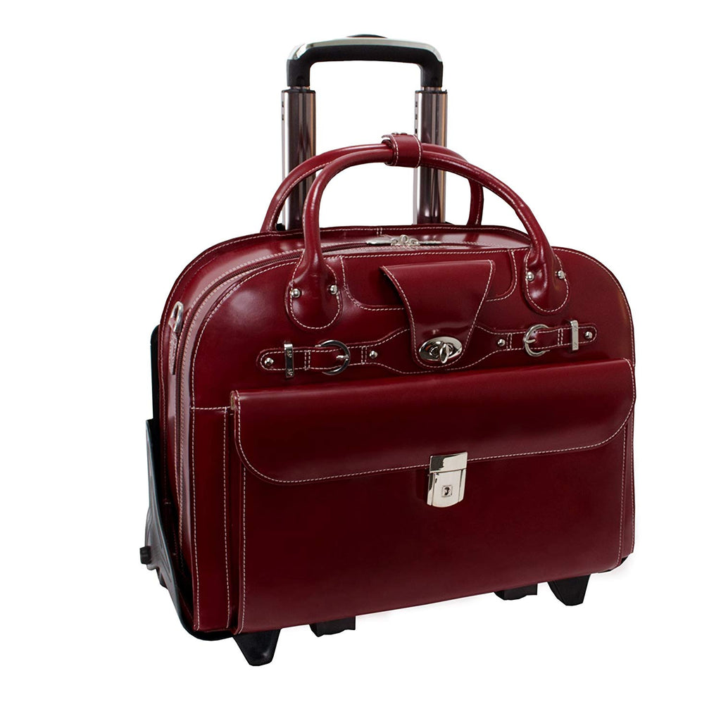 "McKlein USA Roseville 15"" Fly-Through Checkpoint-Friendly Removable Rolling"