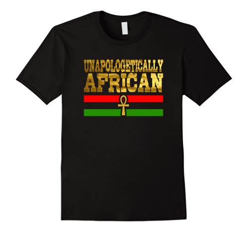 Unapologetically African, Black Pride T-Shirts Egyptian Ankh