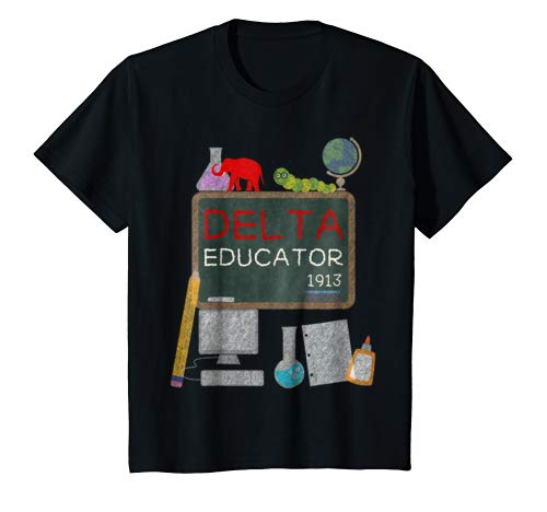 Delta Educator Shirt Gift for Teachers Professors and Aides