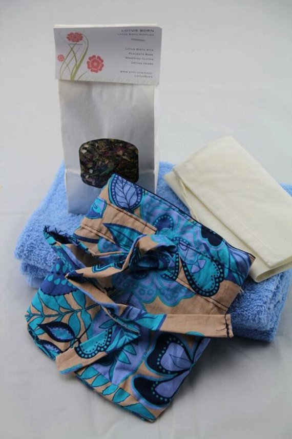 Cotton Lotus Birth Kit - Lined