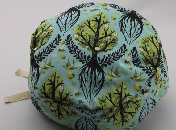 Tree of Life Cotton Lotus Birth Placenta Bag - Lined