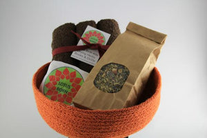 Orange Basket Lotus Birth Kit