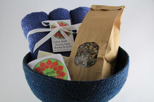 Blue Basket Lotus Birth Kit