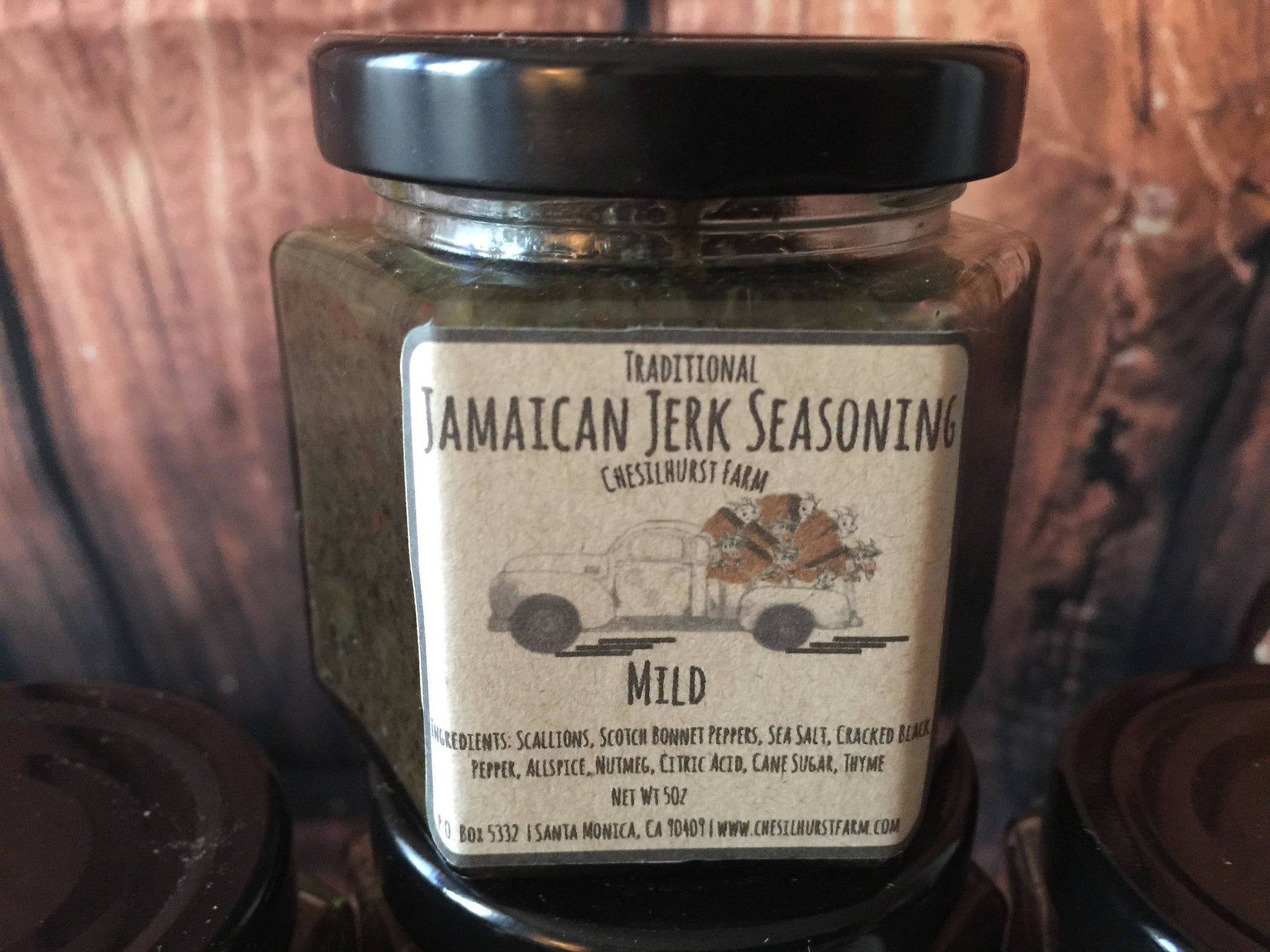 Jamaican Jerk Seasoning- Mild Traditional Wet -Jerk Sauce