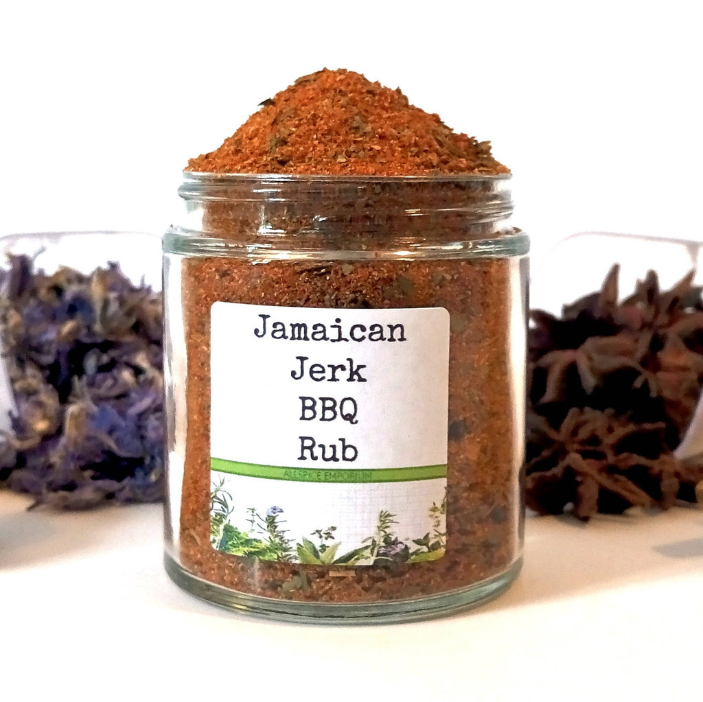 Jamaican Jerk BBQ Rub, Gifts for Foodies, Foodie Gift, Chef Gift