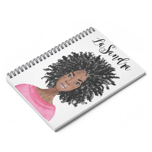 African American Office Supplies - Black Girl Notebook - Black Woman Journal - Black Writers - Afro Notebook - Natural Hair Woman - Big Hair