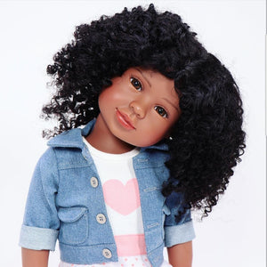 "Black dolls 18"" inches interactive doll"