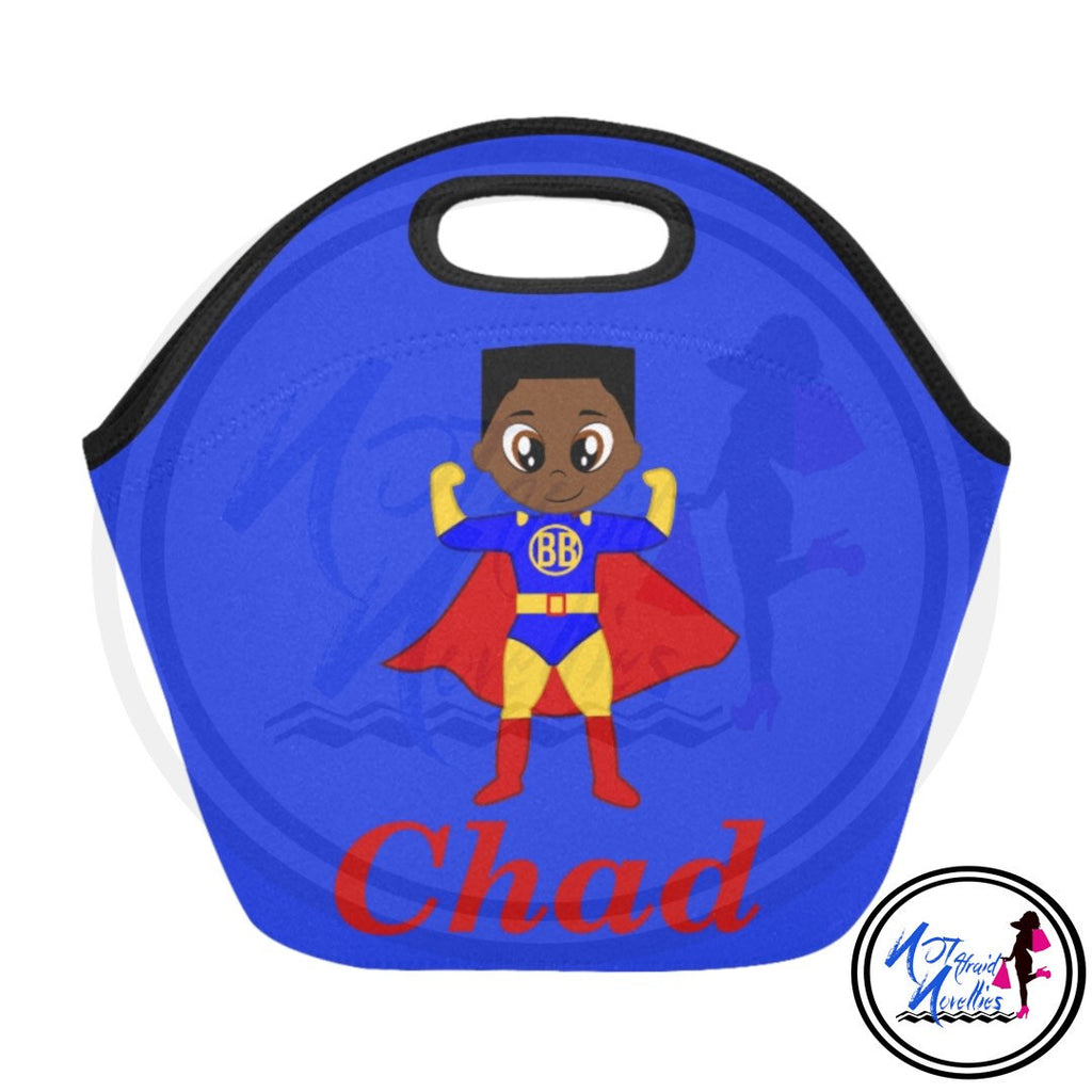 African American boy superhero lunch bag. Back to school. Lunch bags. Personalized lunch bag. School items. School supplies. Superhero. Boys