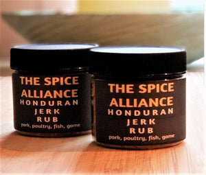 Honduran Jerk Rub & Seasoning. 4 Ounce Jar