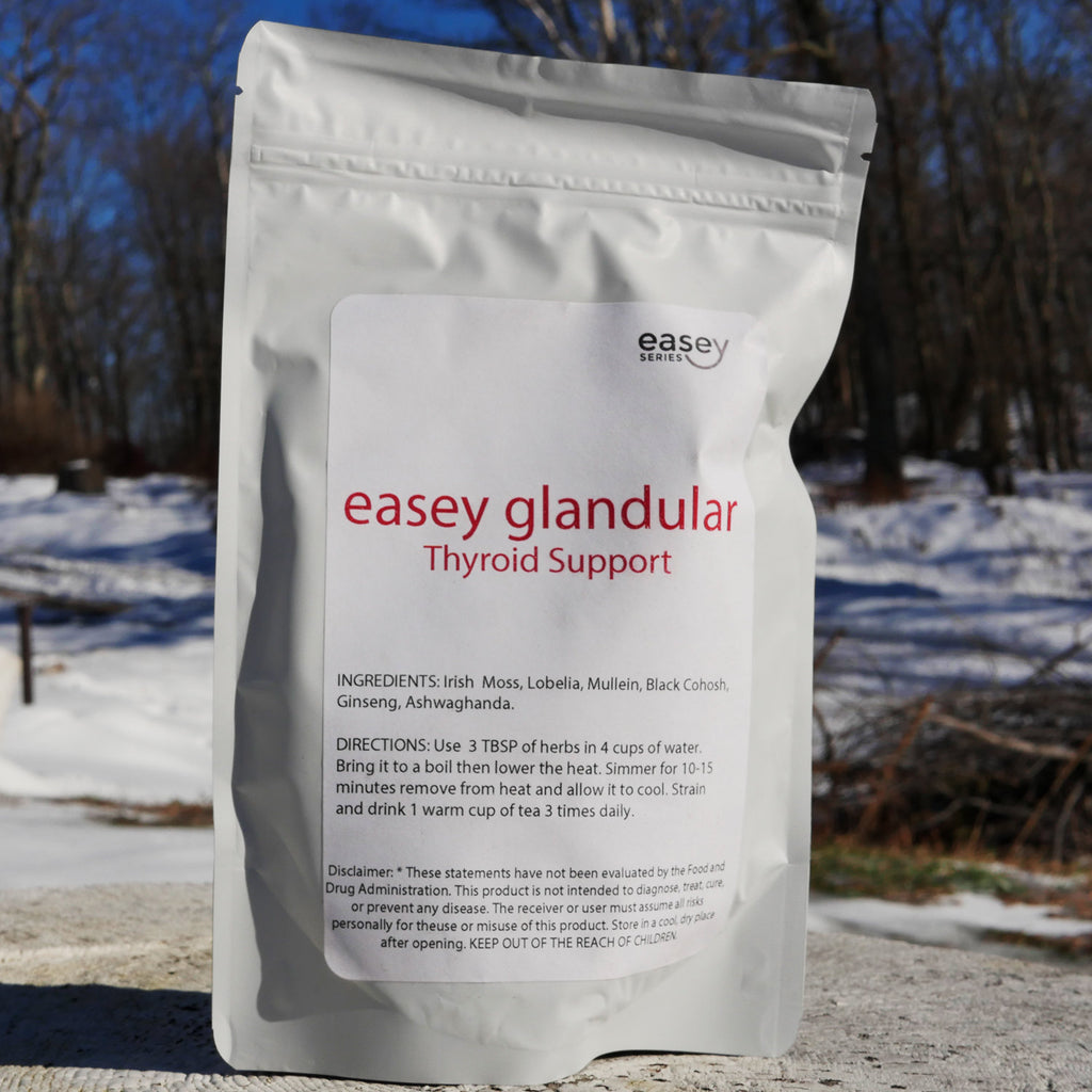 Easey Glandular Thyroid Support 4oz (dry herbs)