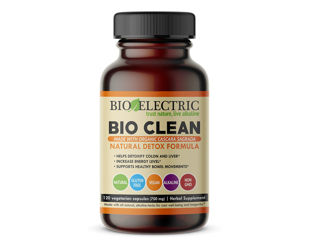 Bio Electric BIO CLEAN Natural Detox Formula - Colon & Liver Detox