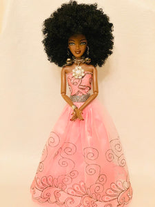 Royal Melanin Queen Sauda Collectible Barbie