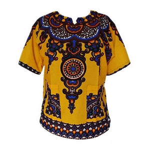 Dashiki New African Clothing Traditional Print Tops Fashion Design African Bazin Riche Clothes Dashiki T-shirt For Men Women