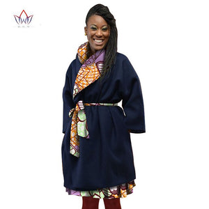 women african clothing cotton african traditional clothing for women print Bazin Riche women coat plus size 5xl regular WY1142