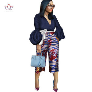 Dashik Pants Mid-Waist Zipper Pant Ladies little big casual Pants Trousers bazin women