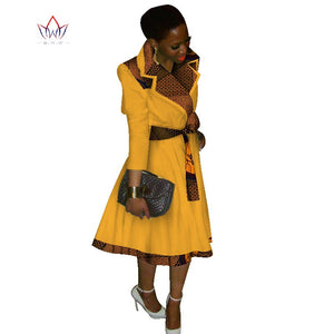New female overcoat African coat Dashiki Africa Clothing Traditional natural Fashion Design blazers cotton