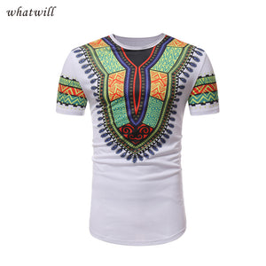 Africa clothing mens fashion t-shirts tops robe africaine femme 2018 hip hop african dresses dashiki 3d printed clothes