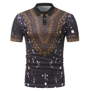 New fashion 3d african clothes hip hop africa clothing dashiki dress printed shirts casual african dresses for men