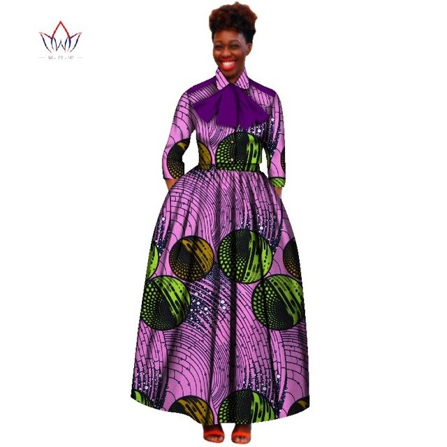 2018 Summer african women two piece v-neck print Skirt set african clothing plus size women cotton clothing regular none WY2519