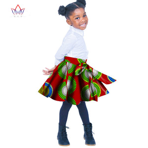 African Women Clothing kids dashiki Traditional cotton skirt Matching  Africa Print skirt Childrens
