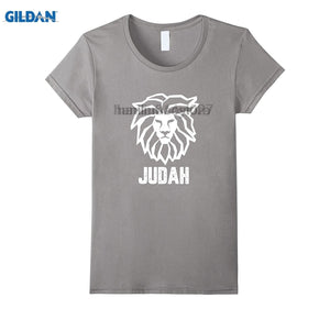 GILDAN The Tribe of Judah Lion T-Shirt Hebrew Israelite Heritage