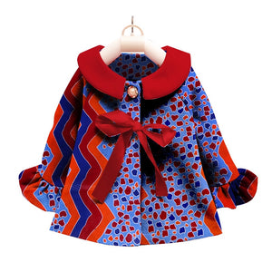 African Clothing kids dashiki Traditional cotton Dresses Matching  Africa Print Children top baby clothes cotton