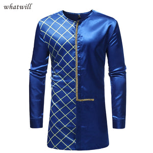 New fashion mens africa clothing hip hop shirts dashiki casual dresses african clothes fitness traditional & cultural wear