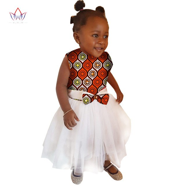 African Women Clothing kids dashiki Traditional cotton Dresses Matching  Africa Print Dresses Children