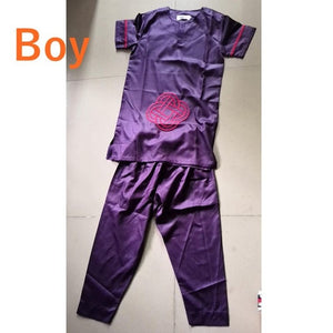 African children clothing Africa kid boy girl Dashiki shirts suits two 2 piece set kids outfit summer girls top pant sets