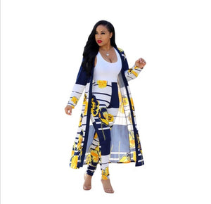 2018 Summer Traditional African Clothing 2 Piece Set Women Africaine Print Dashiki Dress African Clothes