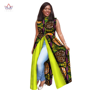 Plus Size dresses women  traditional african fashion Clothing O-Neck Africa Wax Dashiki Slim Cut Sexy  long dress 7xl